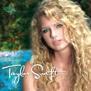 The cover of Taylor Swift's self-titled album. Image from Flickr.