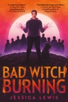 Bad Witch Burning by Jessica Lewis. Image from Goodreads.