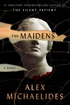 The Maidens by Alex Michaelides. Image from Goodreads.